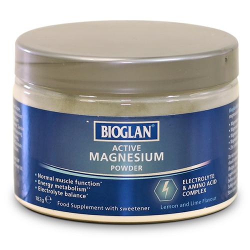 Bioglan aktív Magnézium POR, 182g