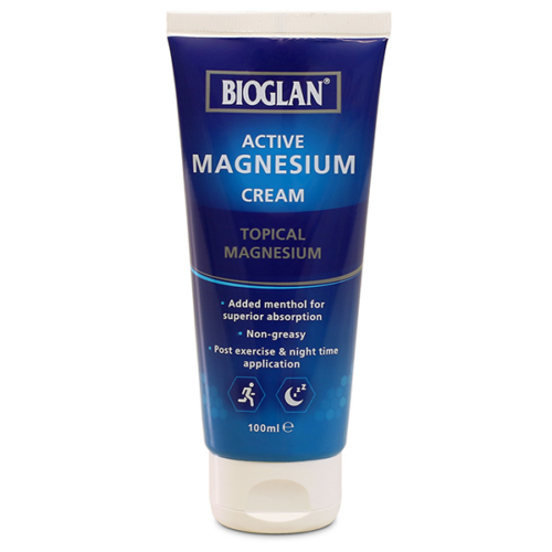 Bioglan aktív Magnézium KRÉM, 100ml